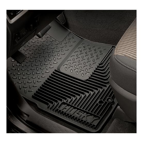 Coverking Custom Fit Front Floor Mats for Select Volvo 960 Models Black Nylon Carpet